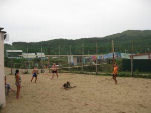 Волейбол пляжка