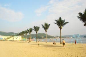 Пляж бухты